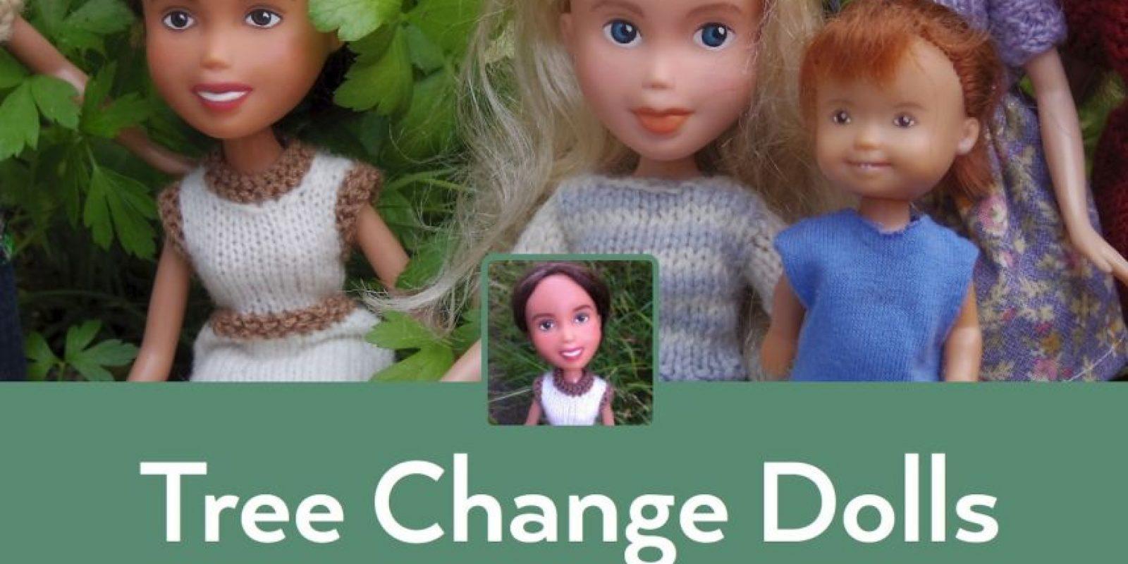 """Ellas muestran un glamour """"con los pies en la Tierra"""" Foto:Tree Change Dolls /Tumblr"""