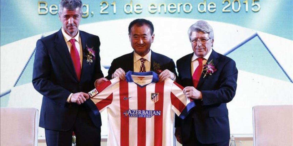 El magnate chino Wang Jianlin compra el 20 por ciento del Atlético por 45 millones de euros