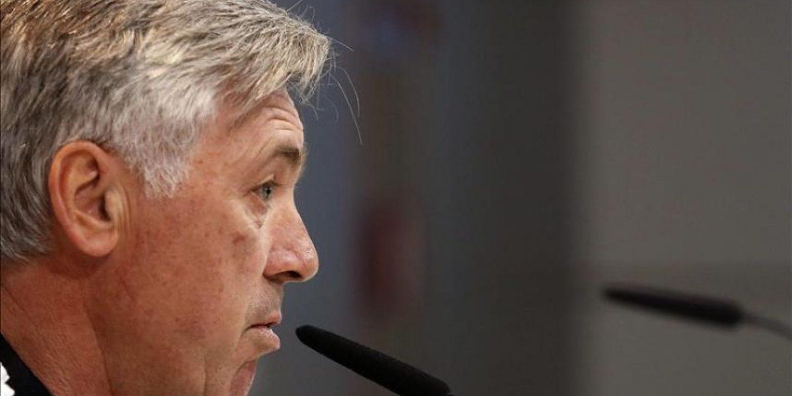 El entrenador italiano del Real Madrid, Carlo Ancelotti. EFE/Archivo