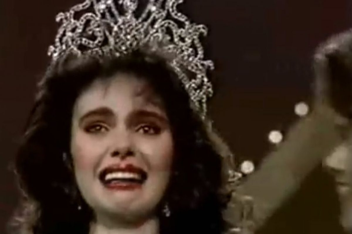 Miss Venezuela 1986 Foto: YouTube/Miss Universe