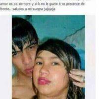 """Romeo y Julieta """"acuáticos"""". Foto:Guisadas y ñeradas de redes sociales."""