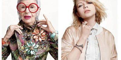 Alexis Bittar hizo lo mismo con Tavi Gevinson y el ícono de moda Iris Apfel Foto:Alexis Bittar