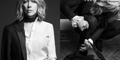 Las grandes casas hacen lo que ya habían logrado marcas como American Apparel o Vogue con Carmen Dell Orefice en su portada. Foto:YSL