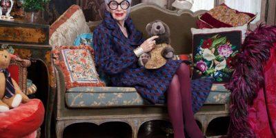 Iris Apfel es modelo de estilo de muchas jóvenes y ancianas alrededor del mundo. Foto:Advanced Style