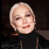 Sigue modelando hasta sus 83 años. Aún. Foto:Carmen Dell' Orefice/Facebook