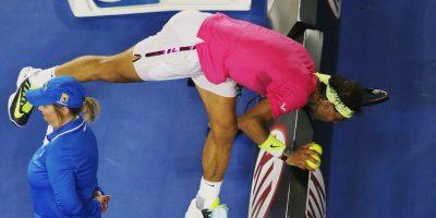 El español jugó deshidratado gran parte del encuentro. Foto:Getty Images