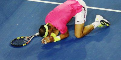 Sufrió pero finalmente avanzó de ronda. Foto:Getty Images