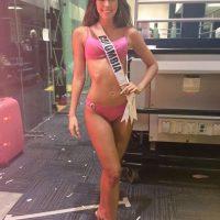 Miss Colombia conquistó al público con su presentación en bikini. Foto:Twitter/Miss Universo
