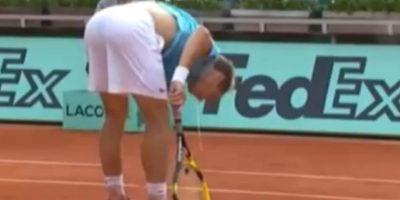 Gasquet terminó ganando el partido por 5-7, 7-5, 6-2 y 6-3 para avanzar a la tercera ronda. Foto:YouTube