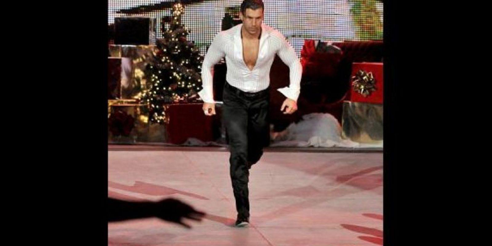 El luchador bailarín también entrará al ring en busca de una oportunidad titular en Wrestlemania Foto:WWE
