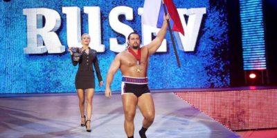 El campeón de Estados Unidos quiere otro cinturón Foto:WWE