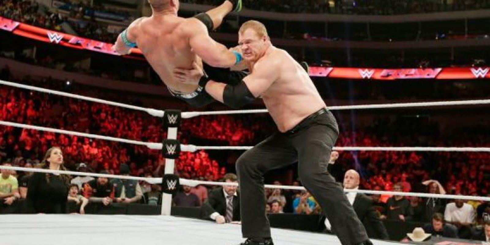 Cuenta con mucha experiencia en este tipo de peleas Foto:WWE