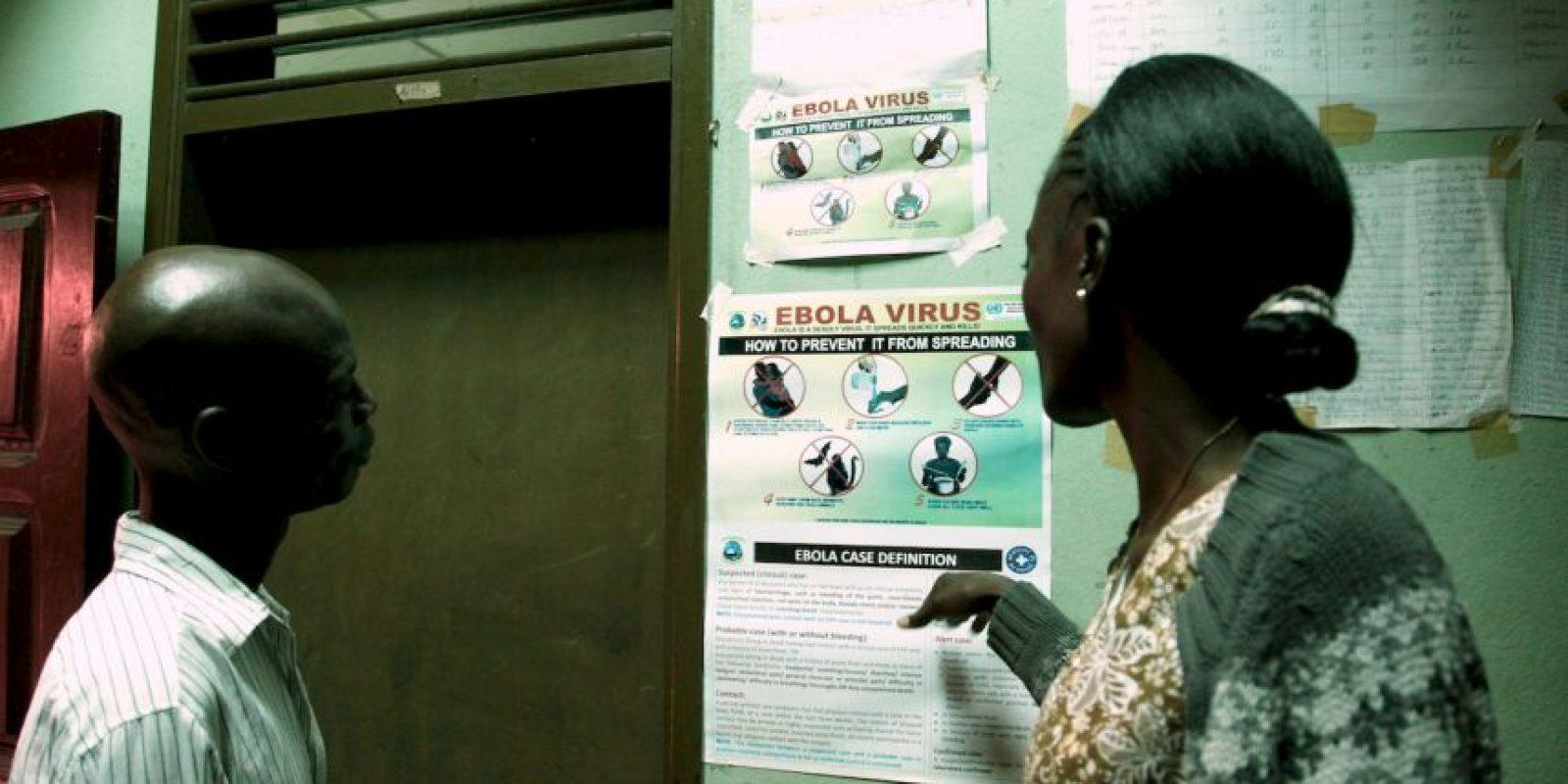 7. En ese país ocho personas se contagiaron del virus y fallecieron seis. Foto:AFP