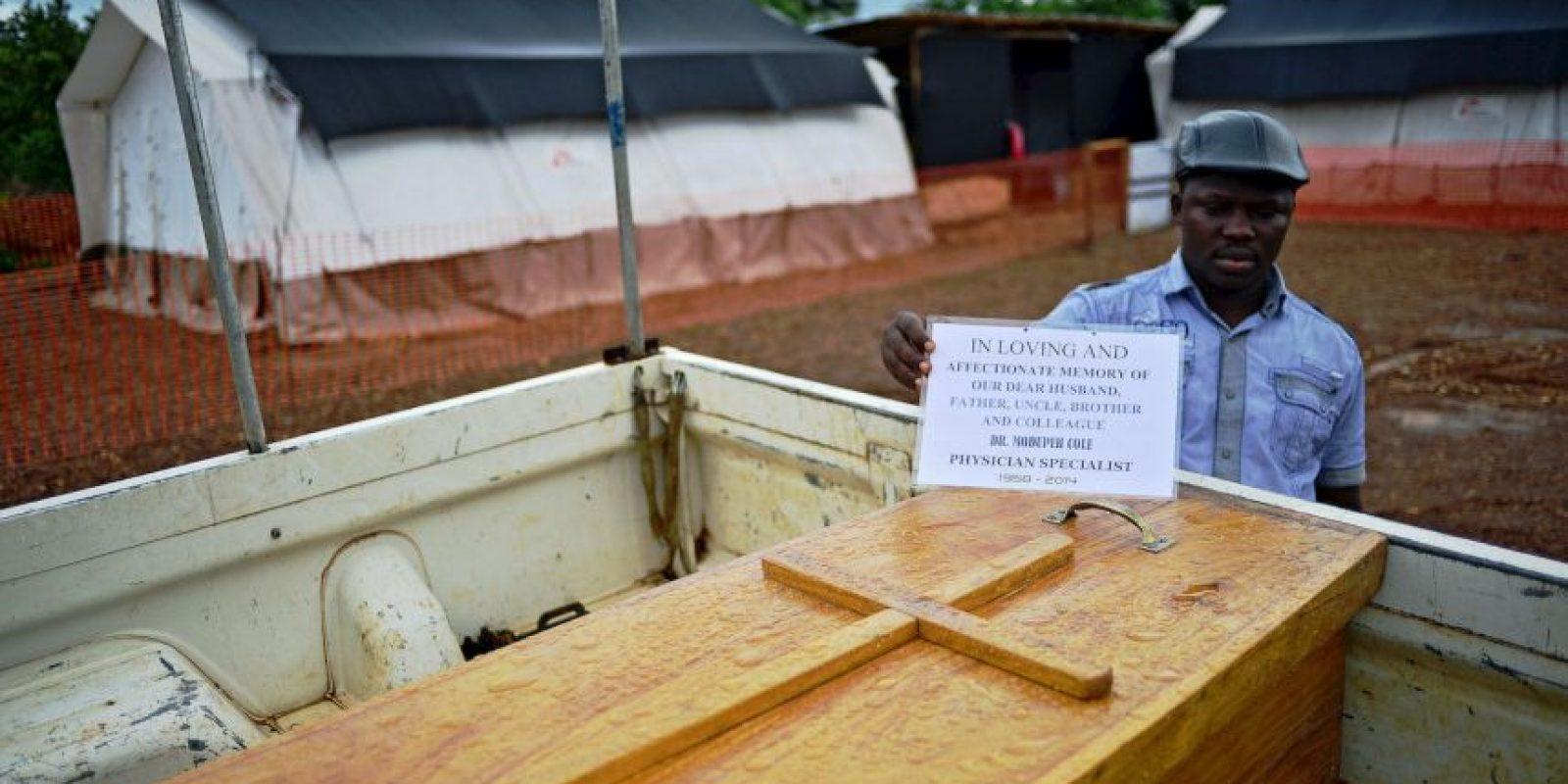 5. El 18 de enero el país declaró oficialmente el fin de la enfermedad. Foto:AFP