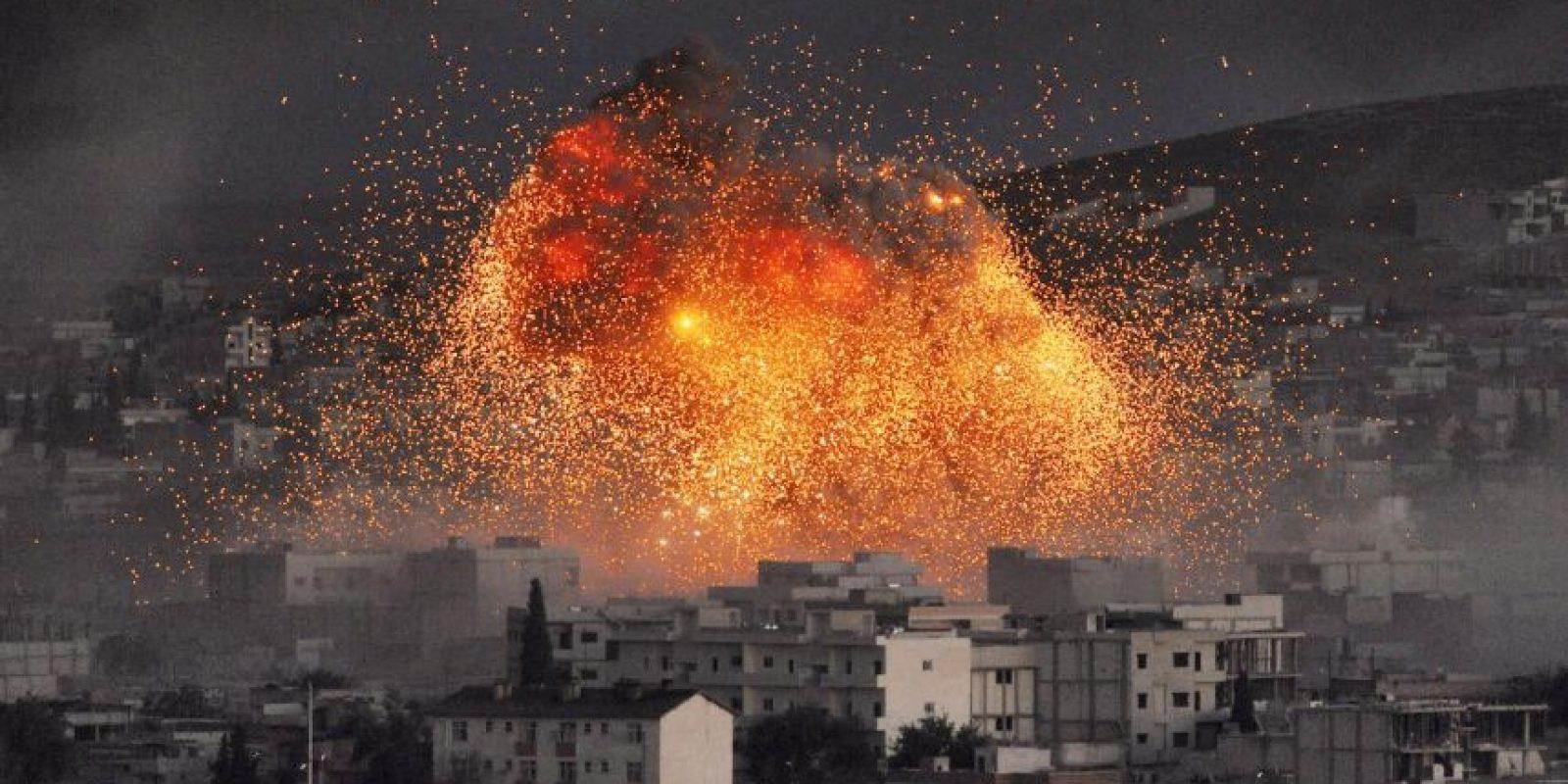 Una coalición internacional intenta detenerlos. Foto:Getty