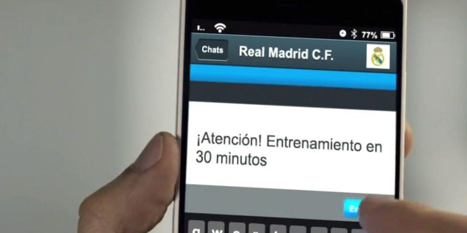 El mensaje de Ancelotti a sus futbolistas. Foto:TURISMOMADRID