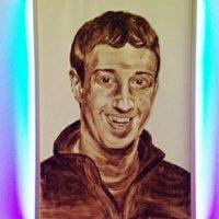 El retrato de Mark Zuckerberg causa sensación en las redes sociales. Foto:instagram.com/nandoid2485