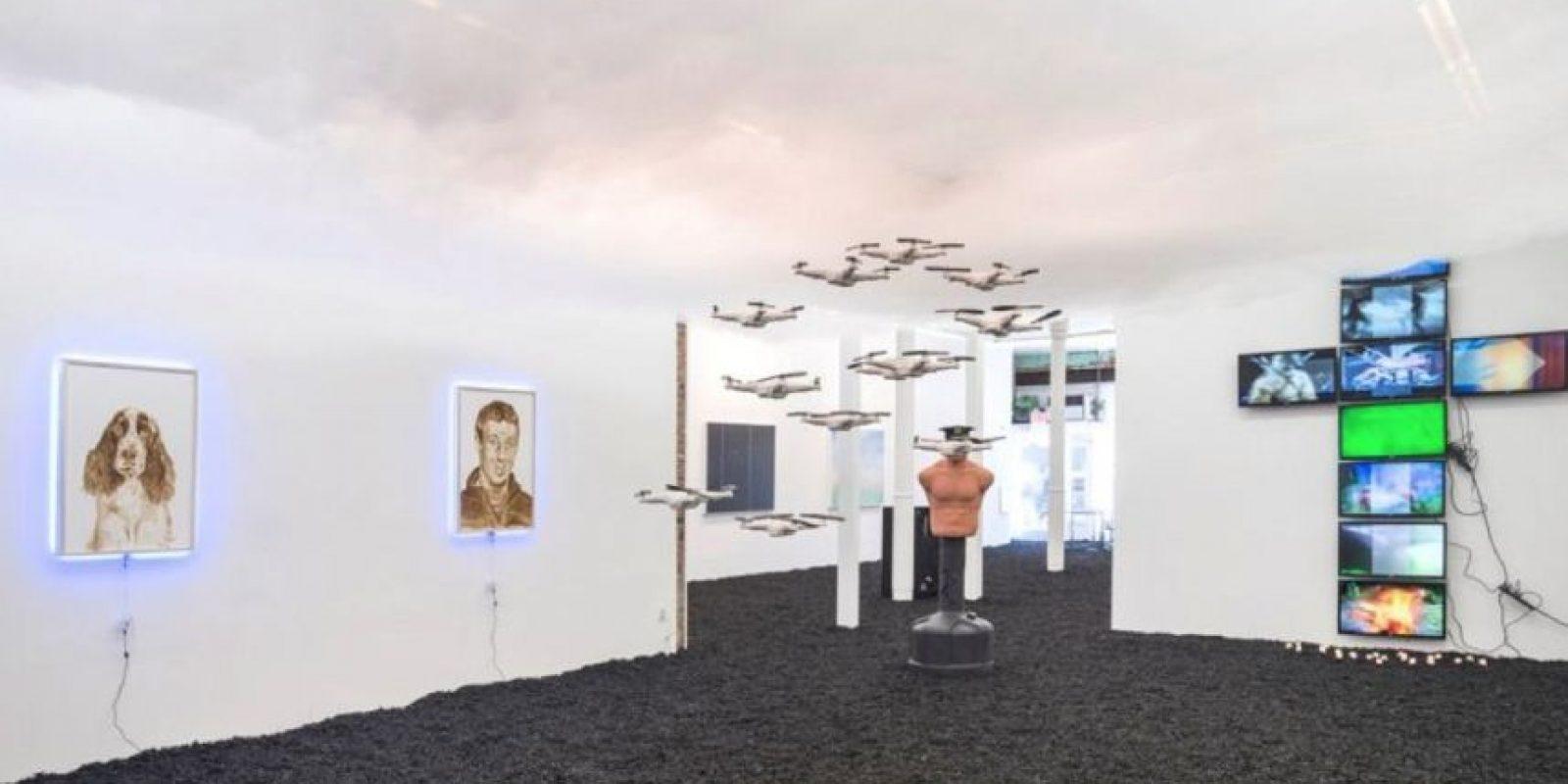 La pieza realizada por Katsu se encuentra en The Hole, un museo neoyorkino. Foto:facebook.com/TheHoleNYC