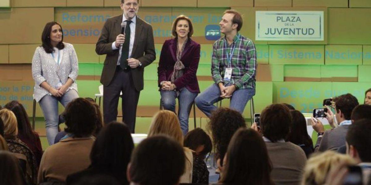 Rajoy reivindica el sistema político español frente a las críticas de Podemos