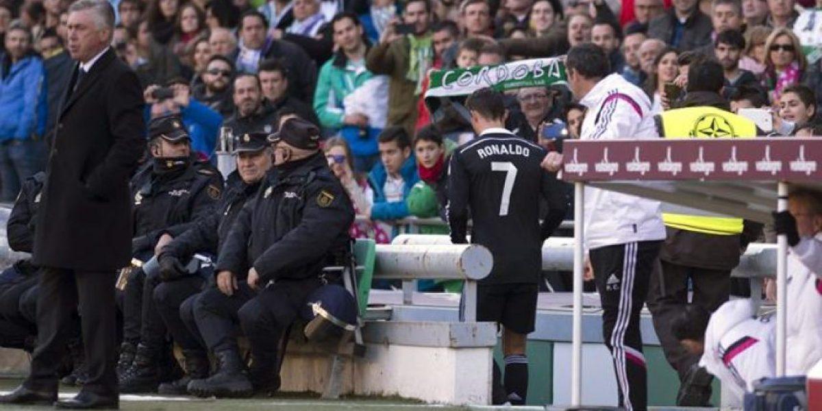 1-2. El Madrid sufre para remontar de penalti tras la expulsión de Cristiano