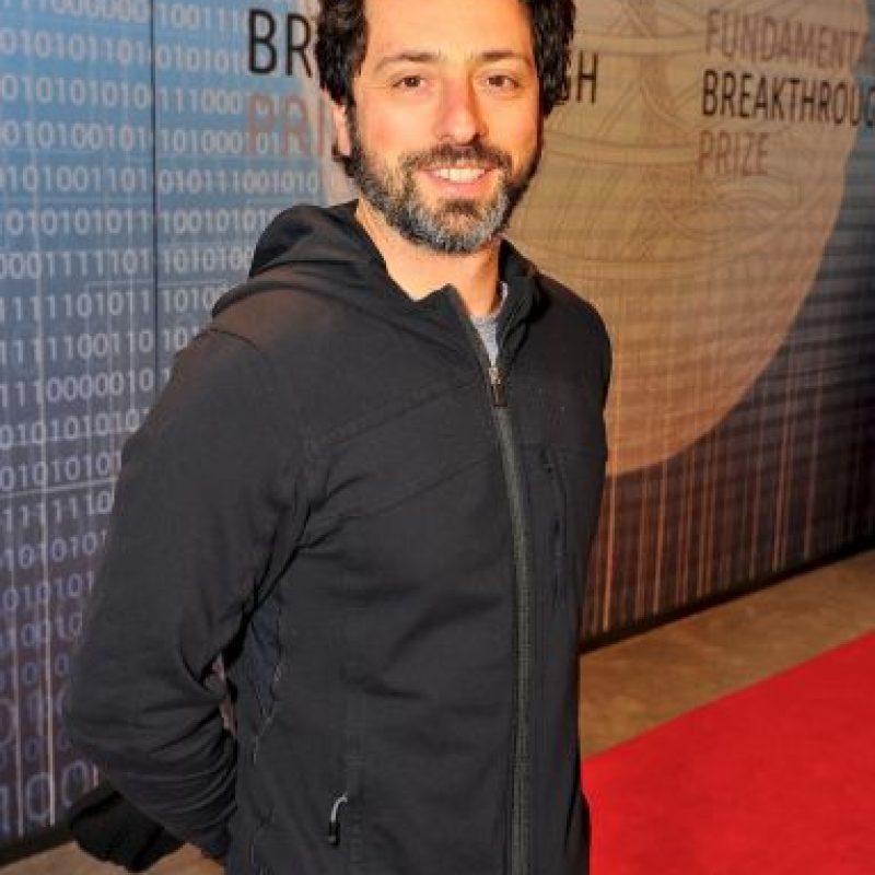 Sergey Brin, Cofundador de Google Foto:Getty Images