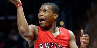 Kyle Lowry es jugador de los Raptors de Toronto. Foto:Getty Images