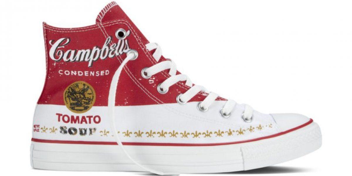 FOTOS: Las obras de Andy Warhol llegan a los zapatos deportivos