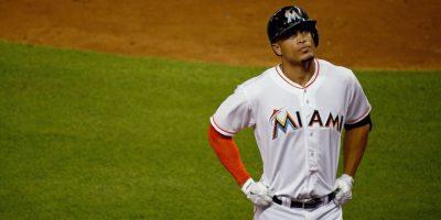 Hizo su debut en el beisbol en 2010 y sigue formando parte de los Marlines de miami. Foto:Getty Images