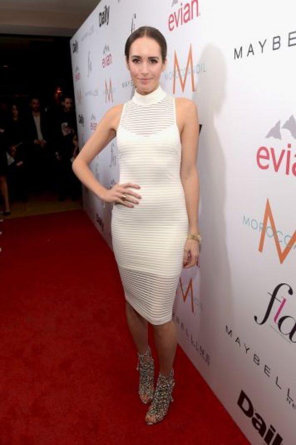 La modelo británica de 33 años de edad también es presentadora de teevisión y periodista de moda. Foto:Getty Images