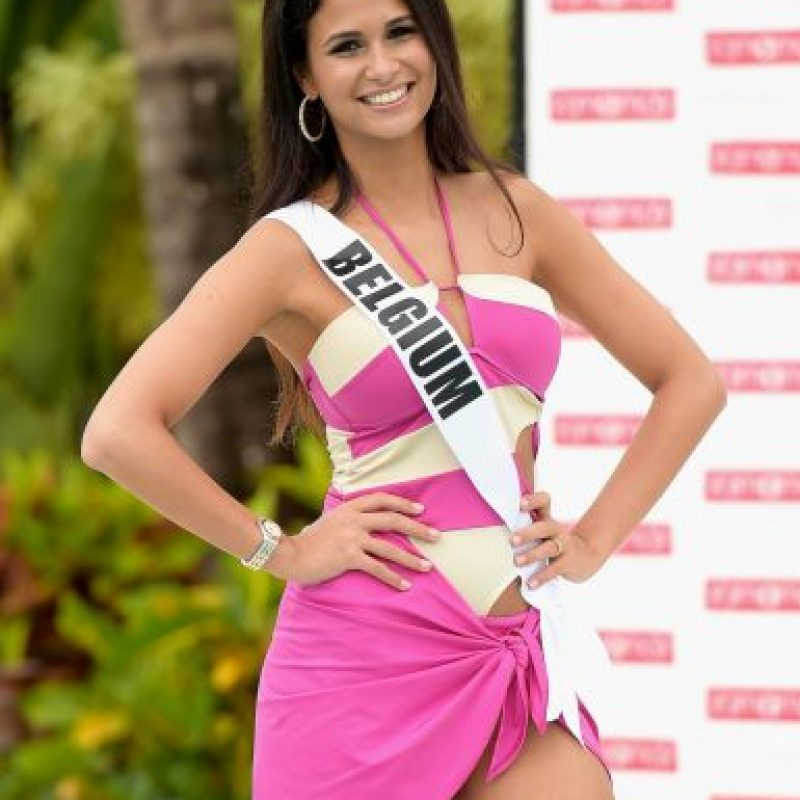 Miss Bélgica – Anissa Blondin Foto: Getty Images