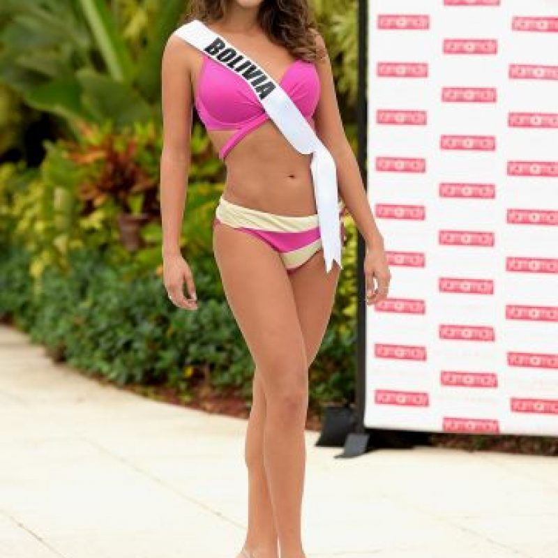 Miss Bolivia – Claudia Tavel Foto:Getty Images