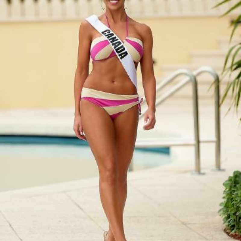 Miss Canadá – Chanel Beckenlehner Foto:Getty Images