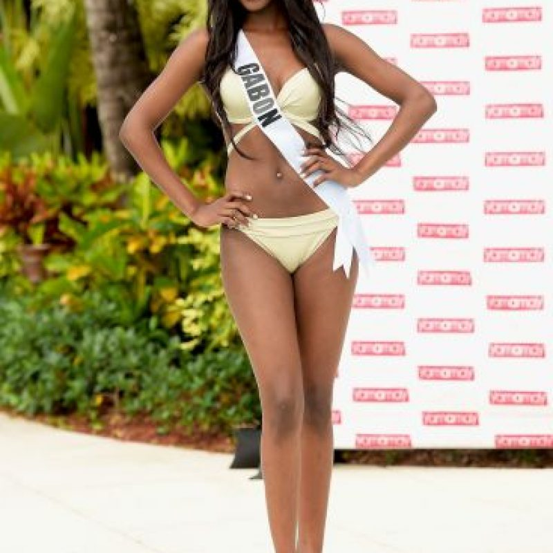 Miss Gabon – Maggaly Ornellia Nguema Foto: Getty Images