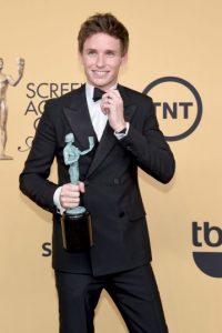 """Eddie Redmayne ganó en la categoría de Mejor actor principal por su interpretación de Stephen Hawking en """"The Theory of everything"""" Foto:Getty Images"""