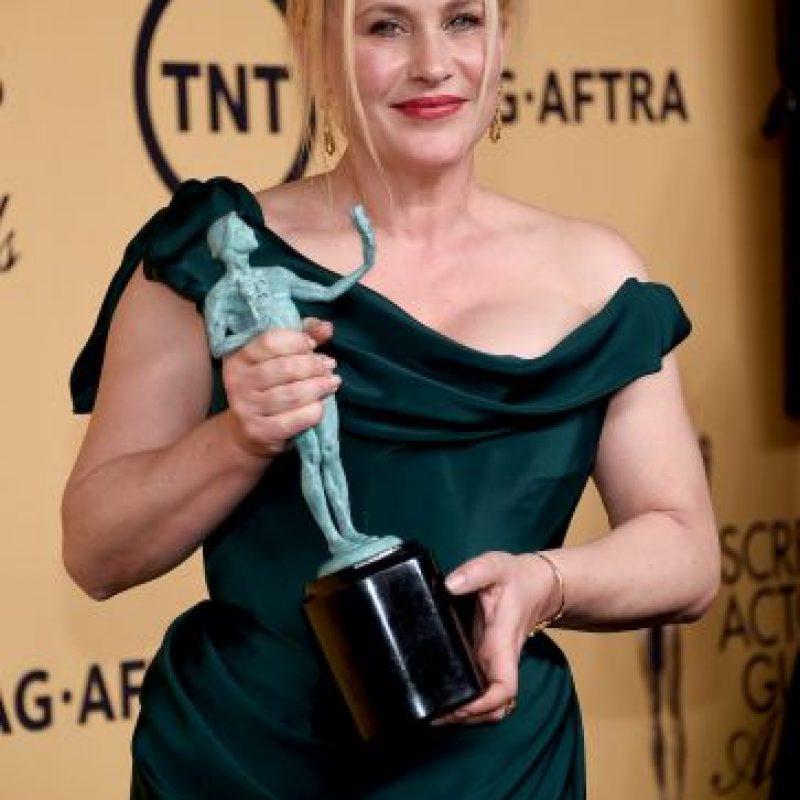 """Patricia Arquette fue la Mejor actriz de reparto por su trabajo en """"Boyhood"""" Foto:Getty Images"""