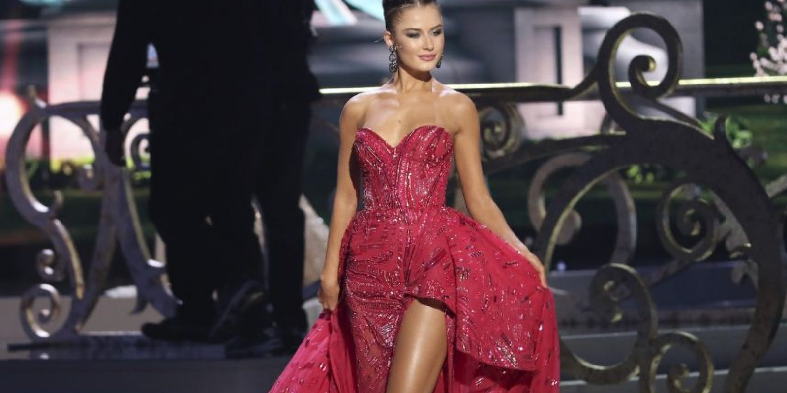 Diana Harkusha, Mis Ucrania Foto:Getty Images