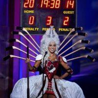 Chanel Beckenlehner, Miss Canadá Foto:AP