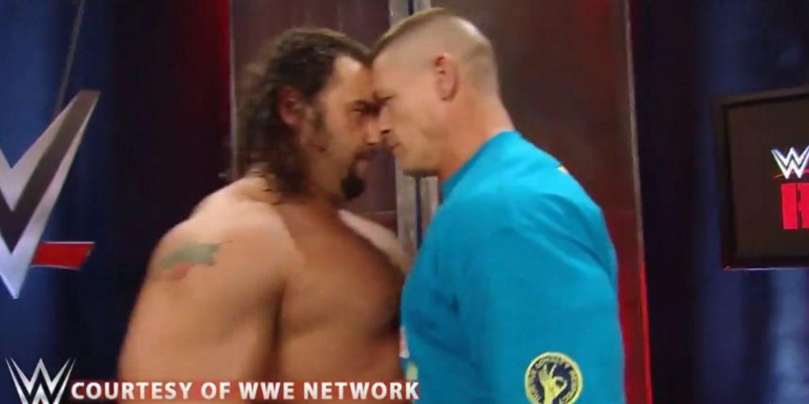 Se encararon Foto:WWE