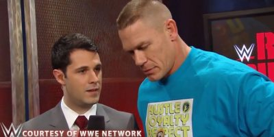 Cena fue entrevistado por WWE Network Foto:WWE
