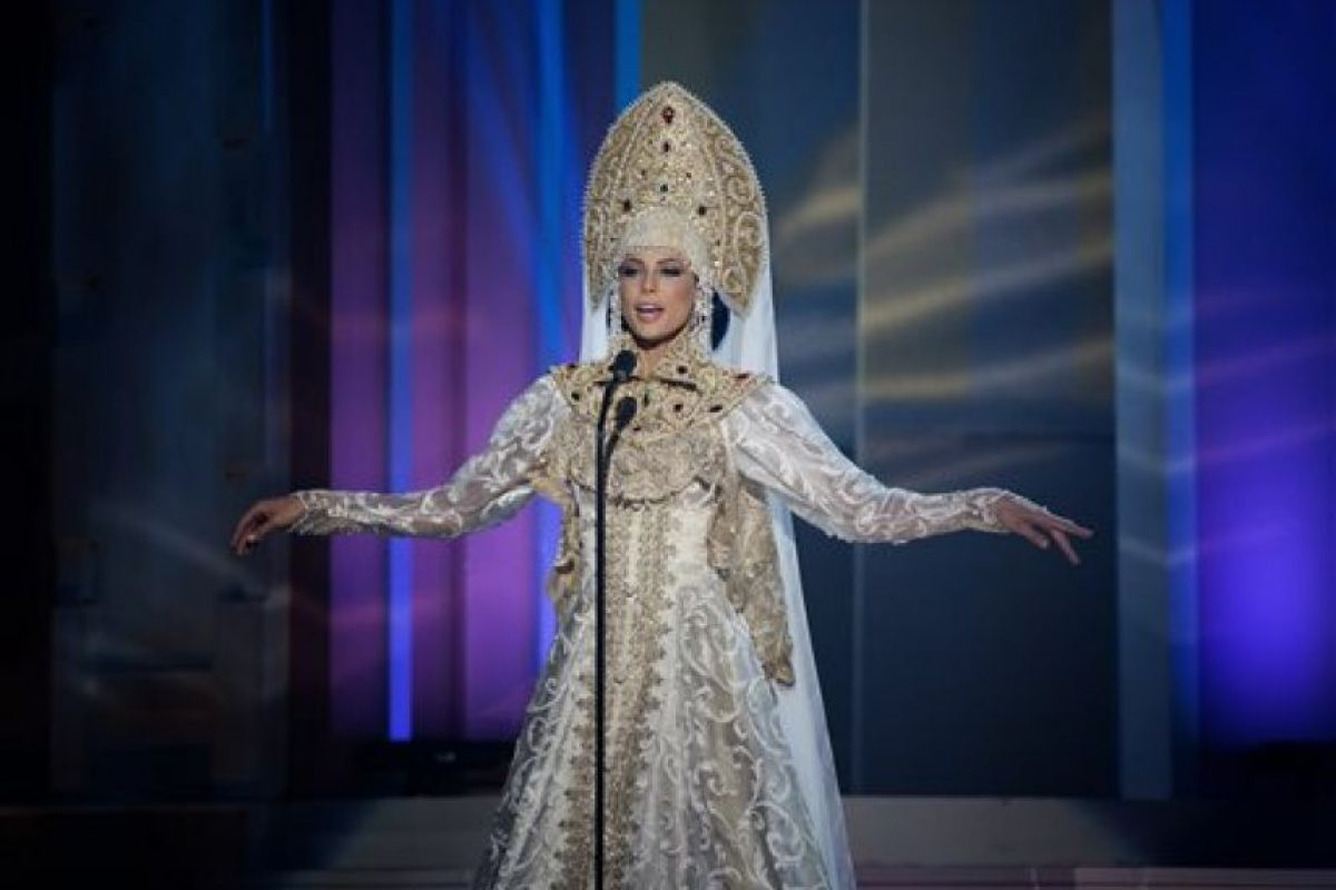 Yulia Alipova, Miss Rusia Foto:AP
