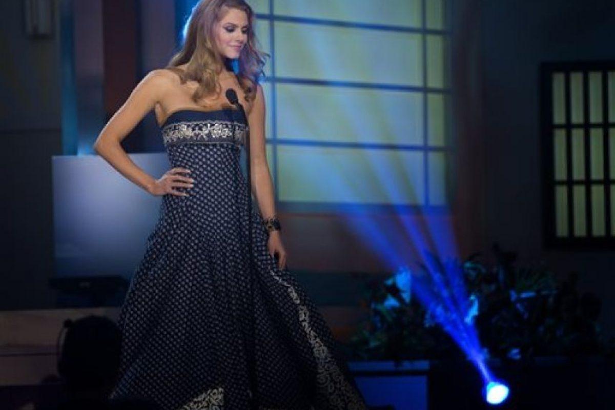 Silvia Prochadzkova, Miss Eslovaquia Foto:AP