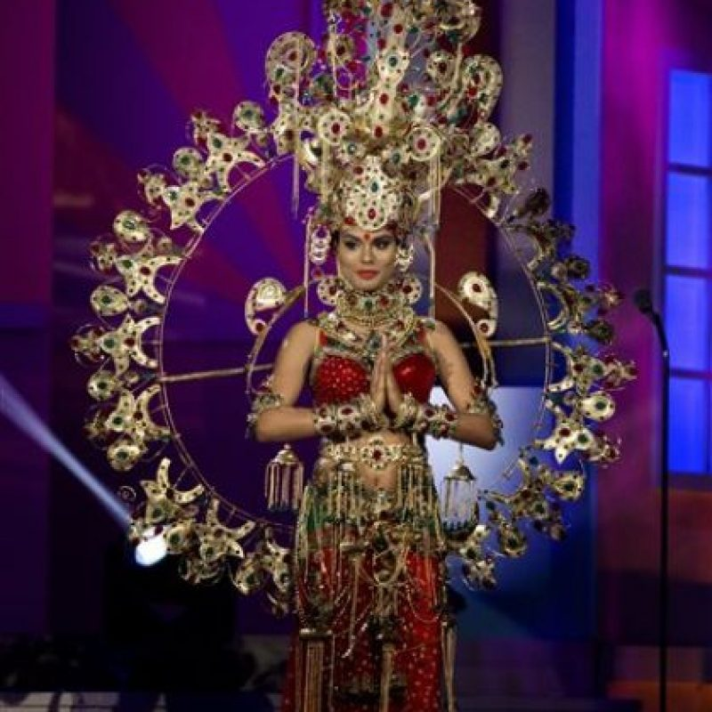 Noyonita Lodh, Miss Inda Foto:AP