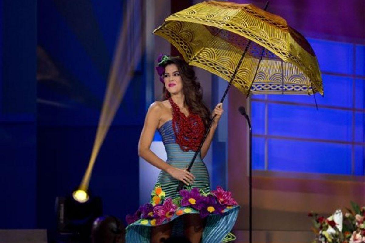 Paulina Vega, Miss Colombia Foto:AP