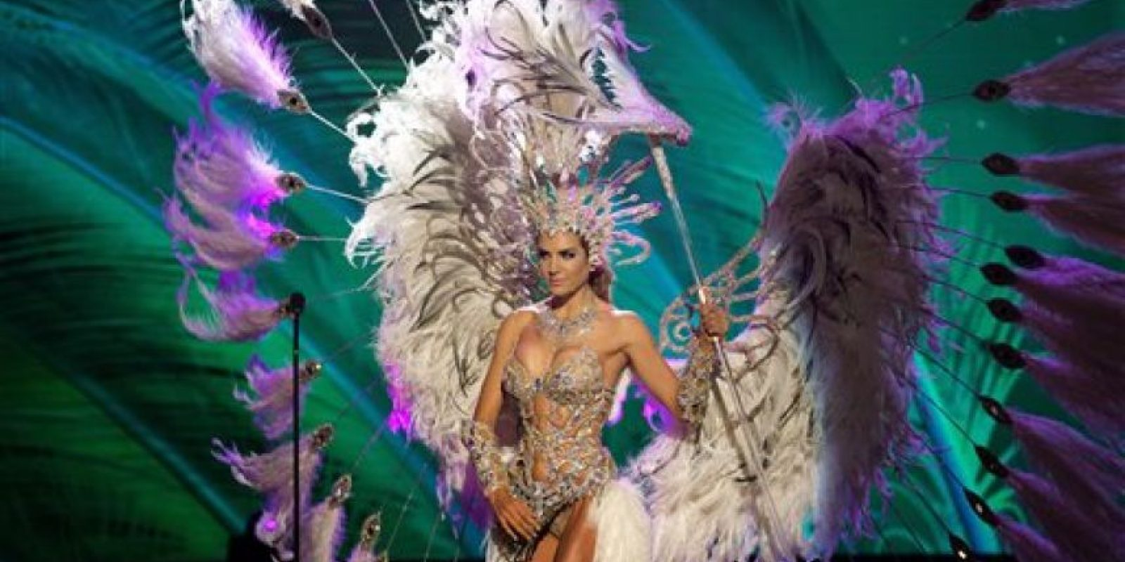 Valentina Ferrer, Miss Argentina Foto:AP