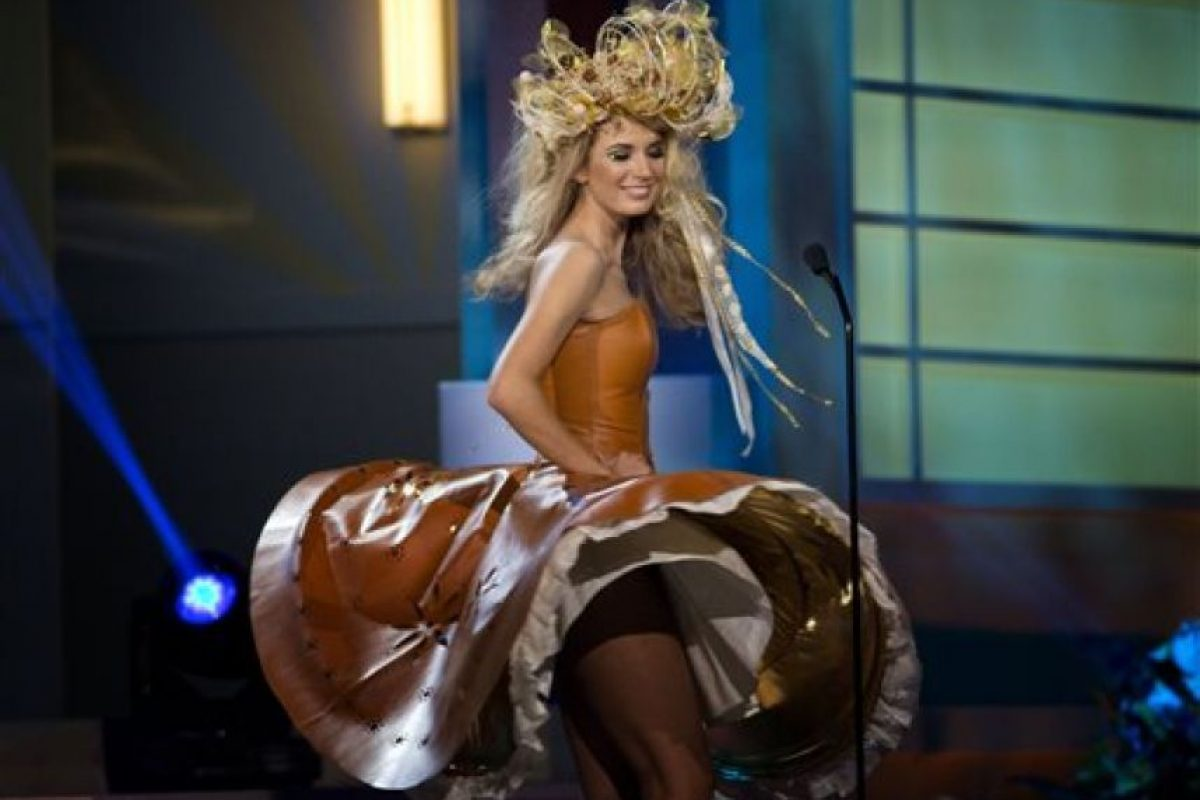Gabriela Frankova, Miss República Checa Foto:AP