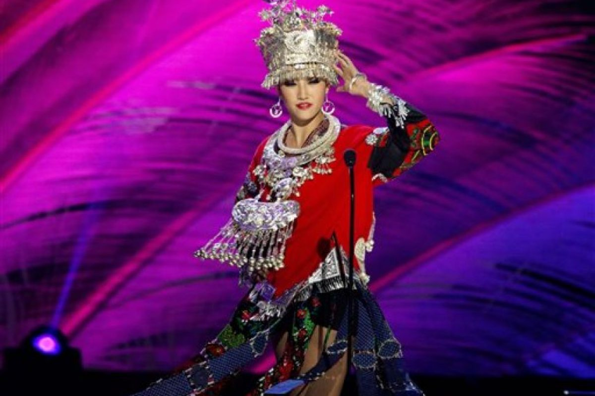 Yanliang Hu, Miss China Foto:AP
