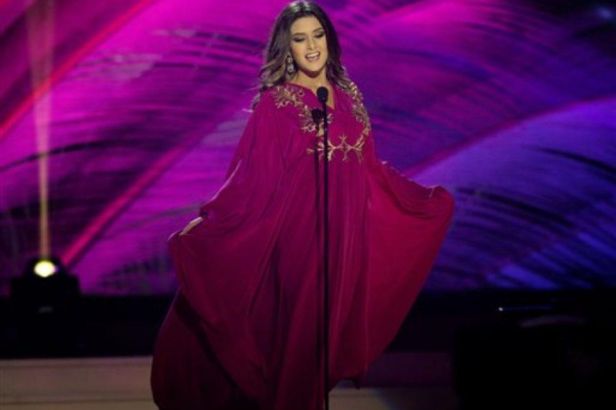 Saly Greige, Miss Líbano Foto:AP
