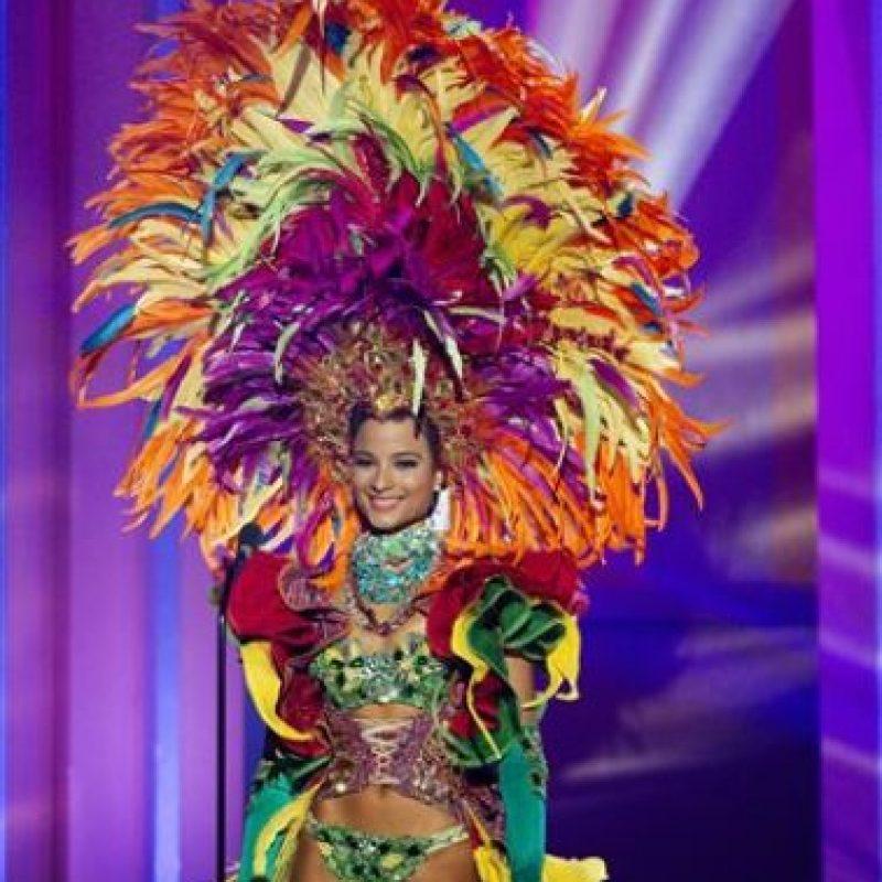 Kaci Fennell, Miss Jamaica Foto:AP