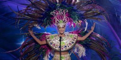 Johana Riva, Miss Uruguay Foto:AP