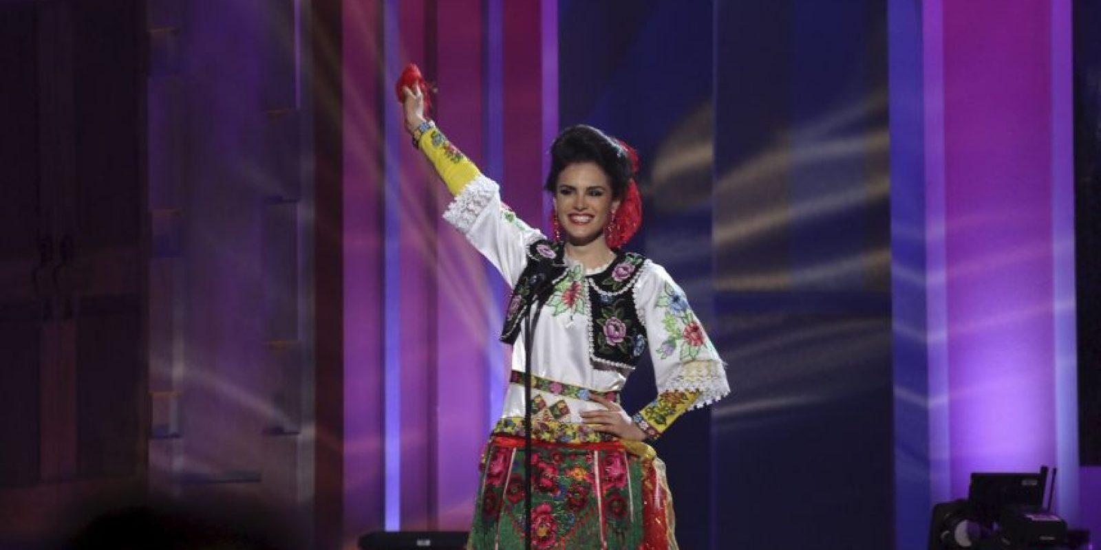 Zhaneta Byberi, Miss Albania Foto:AP
